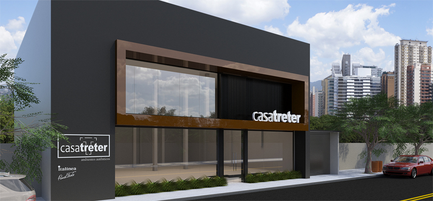 Foto da loja nova inaugurada em 2019