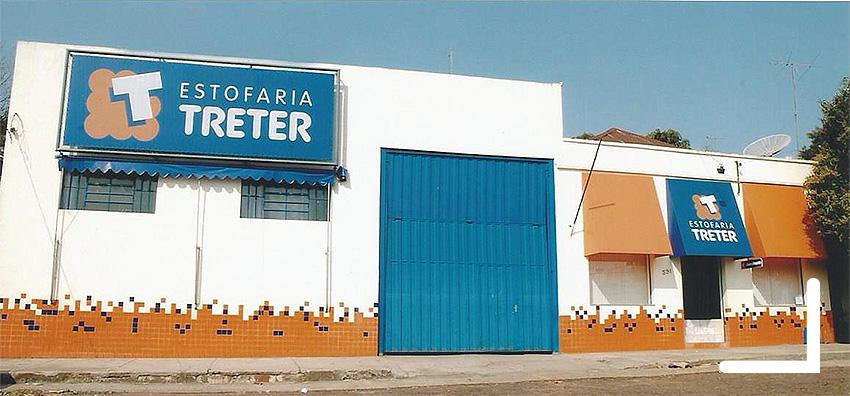 Foto Estofaria Treter nos anos 2000
